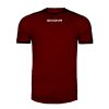 Givova Revolution Shirt Maroon Black