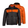 Zeus Apollo Jacket Black Orange Fluo