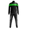 Zeus Apollo Tracksuit Black Fluo Green