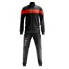 Zeus Apollo Tracksuit Black Fluo Orange