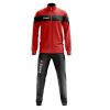 Zeus Apollo Tracksuit Red Black