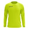 Zeus Enea Training Sweatshirt Fluo Yellow Grey