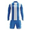 Zeus Pitagora Football Kit Blue White