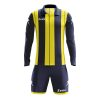 Zeus Pitagora Football Kit Navy Yellow