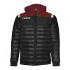 Zeus Vesuvio Winter Jacket Black Maroon