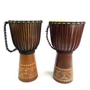 Indo Series Classic Djembes in two sizes
