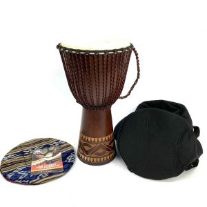 djembe pack for teenagers - gift drum and bag