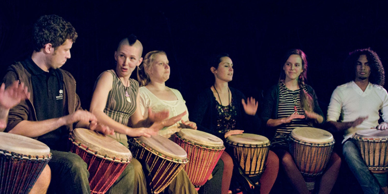 Join a Djembe Class