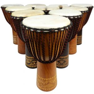 Quality Djembes for Drumbeat Program, African Drumming