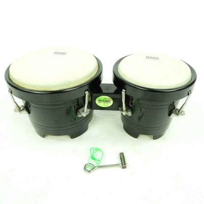 manu kids bongos black