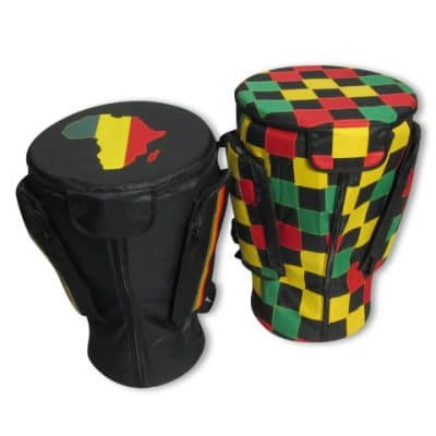 premium quality djembe bags availble in colorful patterns