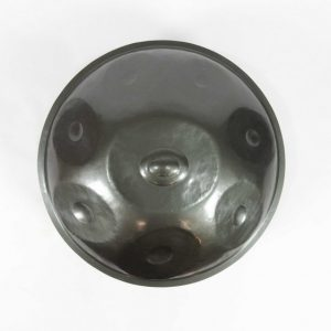 Master Series E Paradiso Handpan drum, made from first grade pressed iron and have a larger volume, to help its resonance. Inspired by the hang drum, we have a range of hanpan drums for sale
