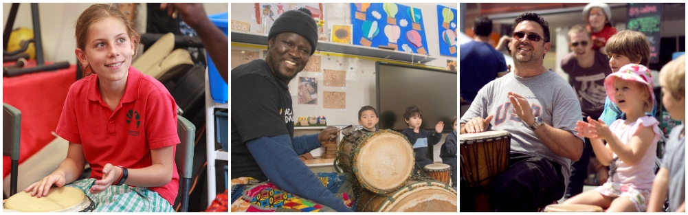 The lost art of attention: Finding focus through African Drumming ?