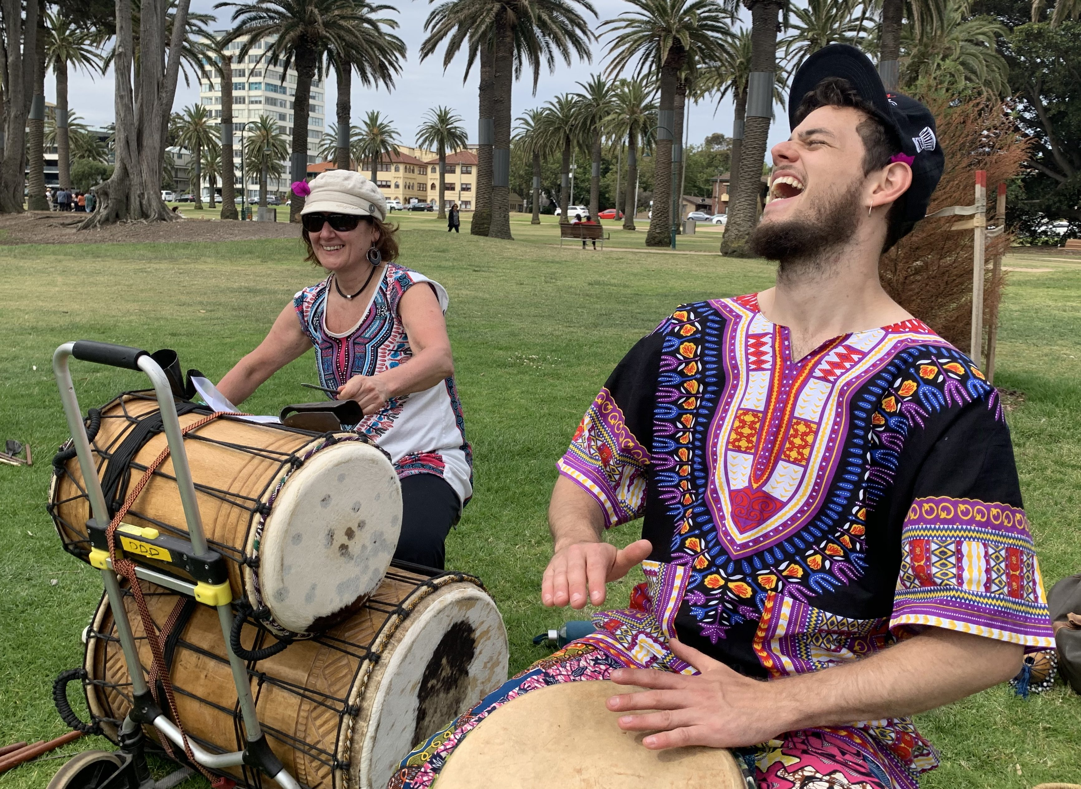 Our St Kilda community djembe classes are back on Monday November 2nd. Classes are limited to 10 students. Register online.