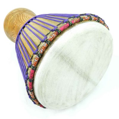 purple djembe