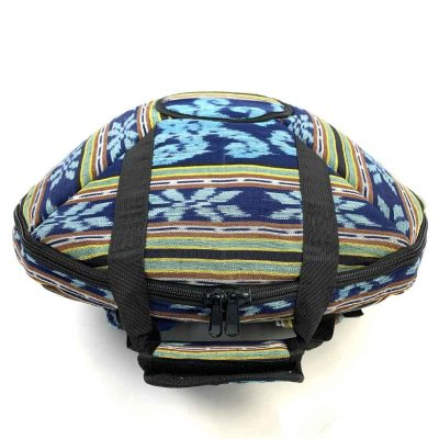 Paterened zip backpack for handpan