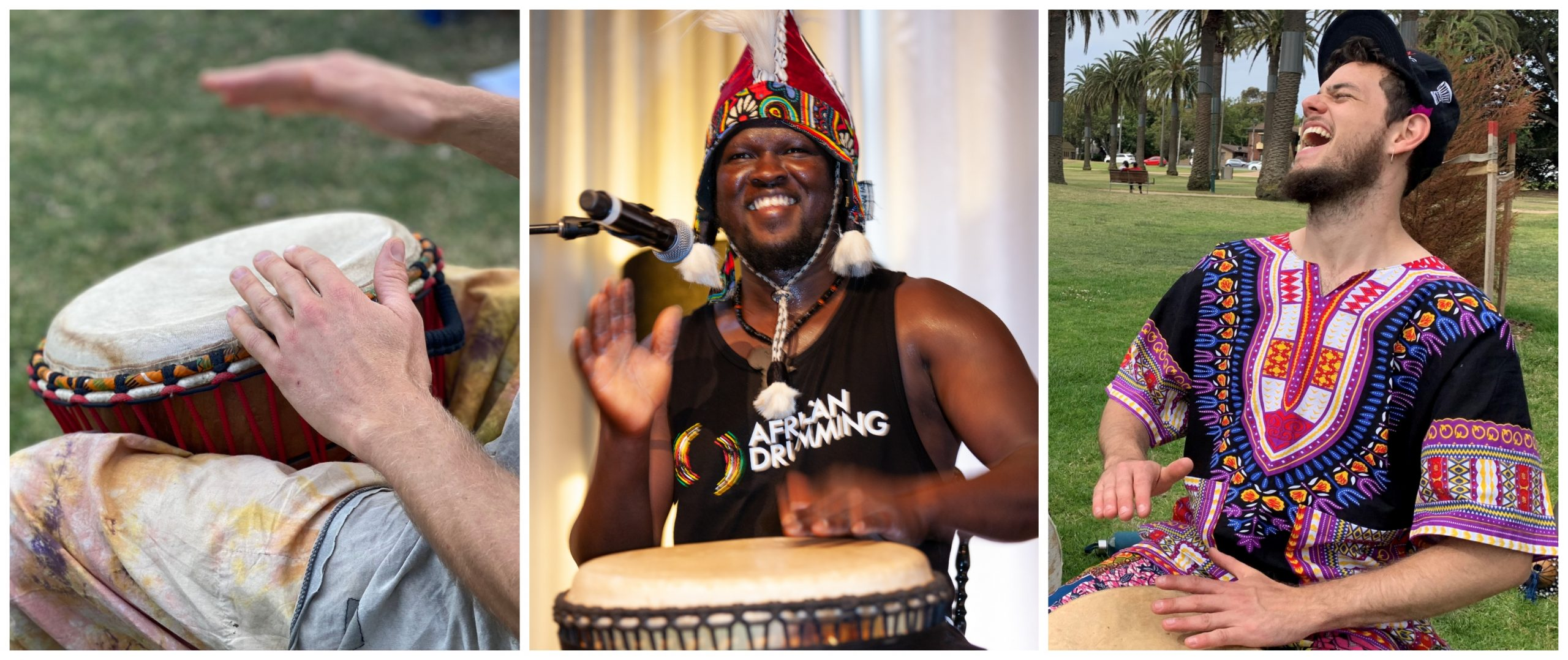 Join our drumming classes on September 27th!
