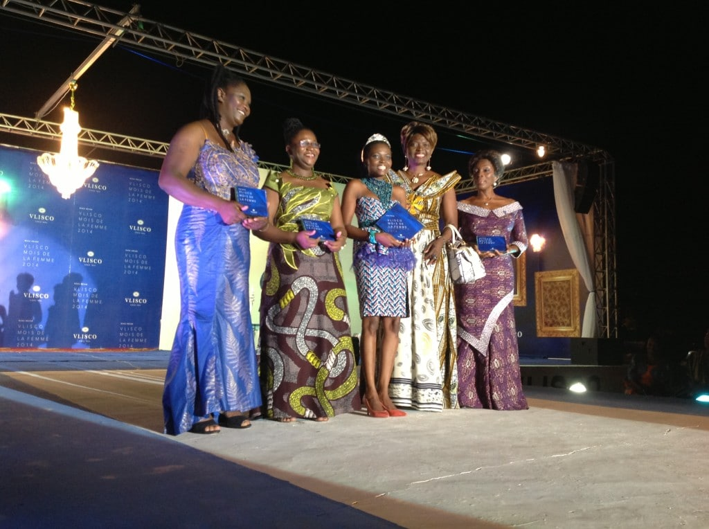 Aimee Abra Tenu Vlisco 2014 Ambassadress Prize Winner Rewarded