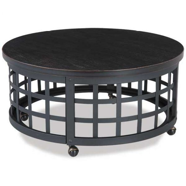 Marimon Round Cocktail Table T746 8 Ashley Furniture Afw Com