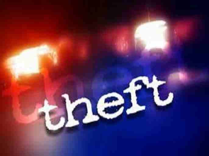 Theft stole 22 weights and a cash lamp