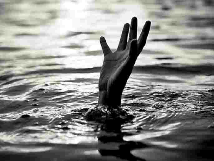 Ahmednagar News Father drowned before his eyes
