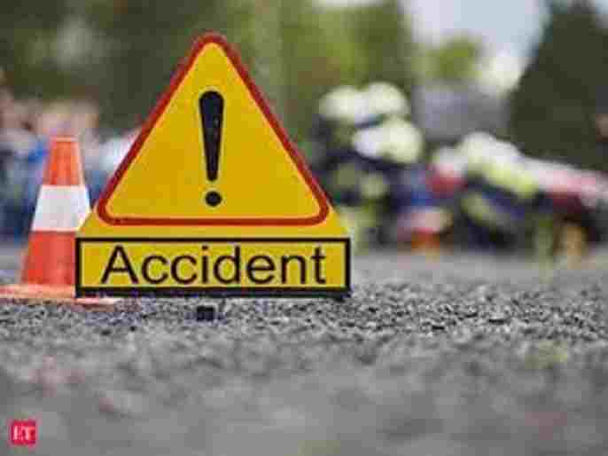 Military death in an accident at sangamner