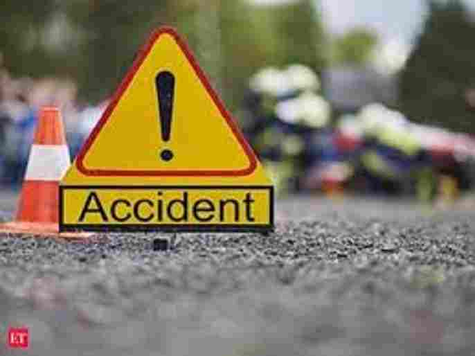 Sangamner taluka young man on a two-wheeler was killed on the spot in a Accident