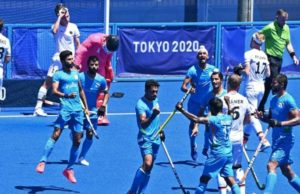 India wins medal in Hockey after 41 years