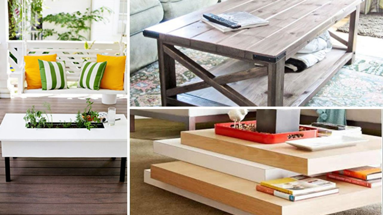 15 Beautiful Diy Coffee Table Ideas You Should Update Your Living
