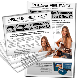 Music Press Release Tips