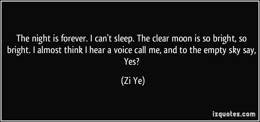 I Cant Sleep Quotes 5