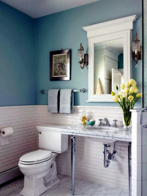 What Color Is Best For Bathroom Walls