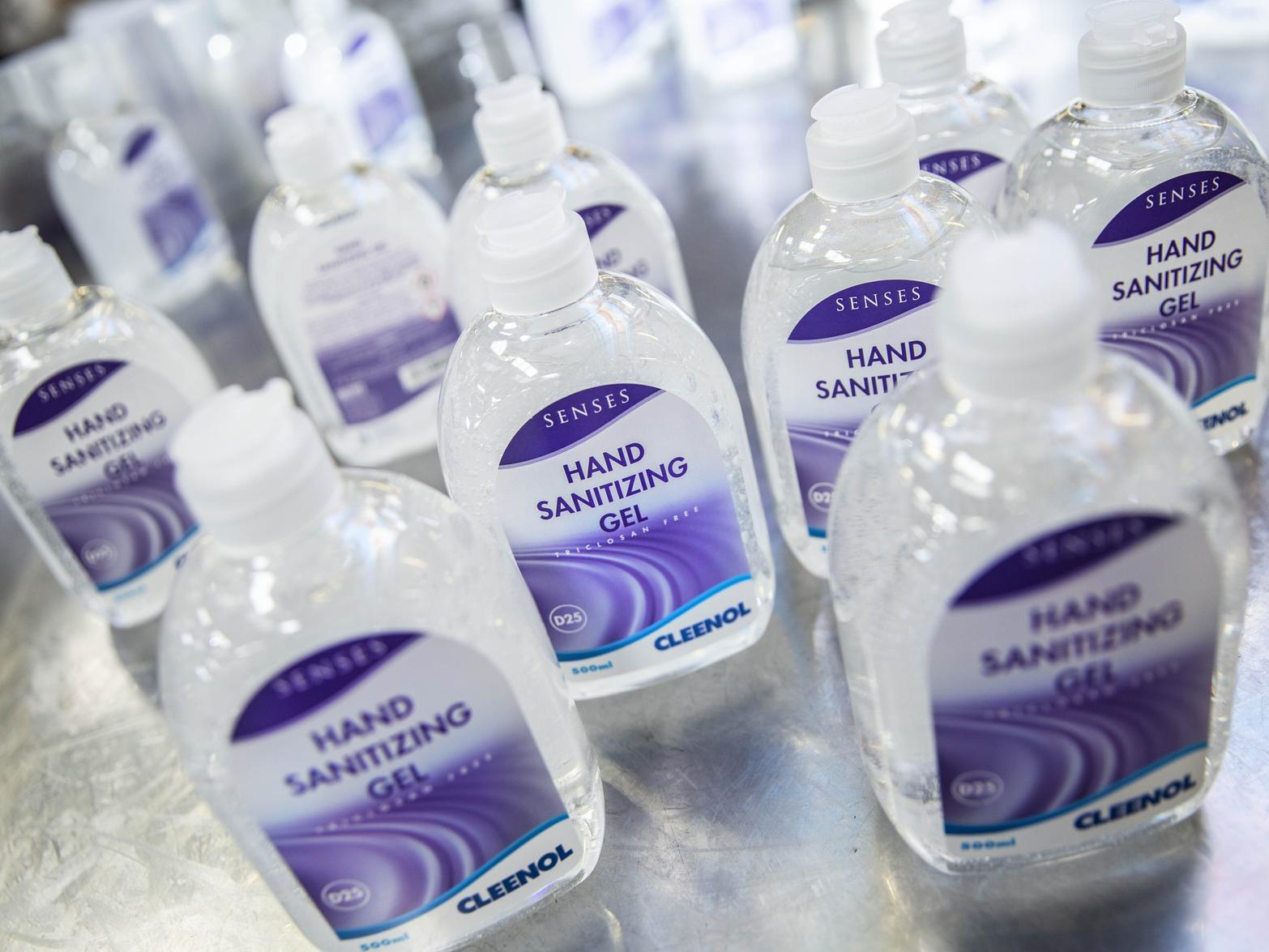 Hand Sanitiser Racketeering Has Caused A Banbury Chemicals Firm To