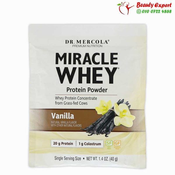 Miracle Whey Protein Powder, 1 Serving Pack, 40 G 1