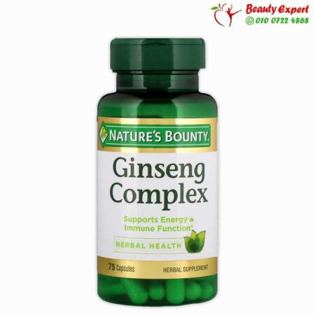 Ginseng Complex, Nature's Bounty, 75 Capsules