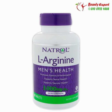 L-Arginine, Extra Strength for Men Health, 3,000 mg, 90 Tablets