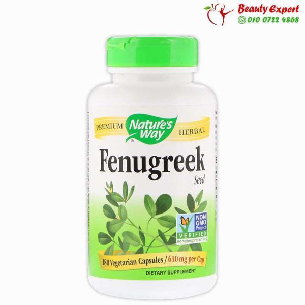 Fenugreek Seed, 610 mg, 180 Capsules, Nature's Way,