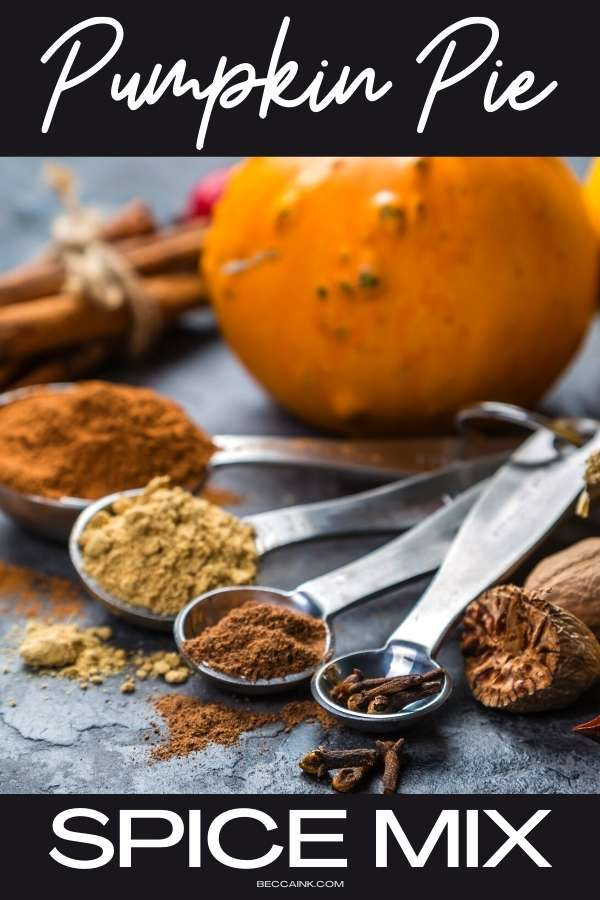 Pumpkin pie spice mix recipe. Try this recipe for pumpkin pie spice mix when making a homemade pumpkin pie recipe from scratch. You can use a pre-made pumpkin pie spice mix for my homemade pumpkin pie recipe with condensed milk or you can save money and give your holiday desserts a flavor boost by making your own pumpkin pie spice mix recipe. Discover my easy recipe for pumpkin pie spice mix to give your scratch made pumpkin pies the perfect fall flavor this holiday season!