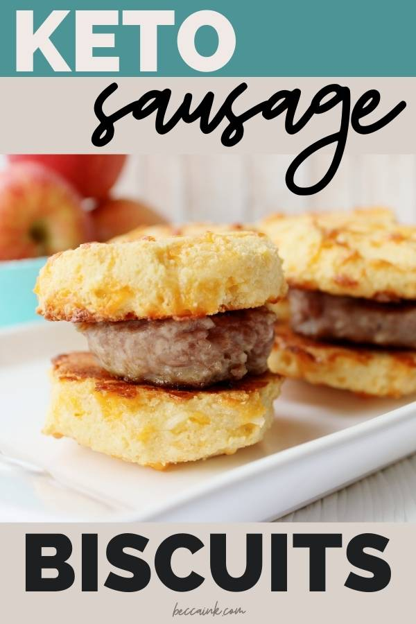 keto sausage biscuits with almond flour biscuits low carb breakfast ideas
