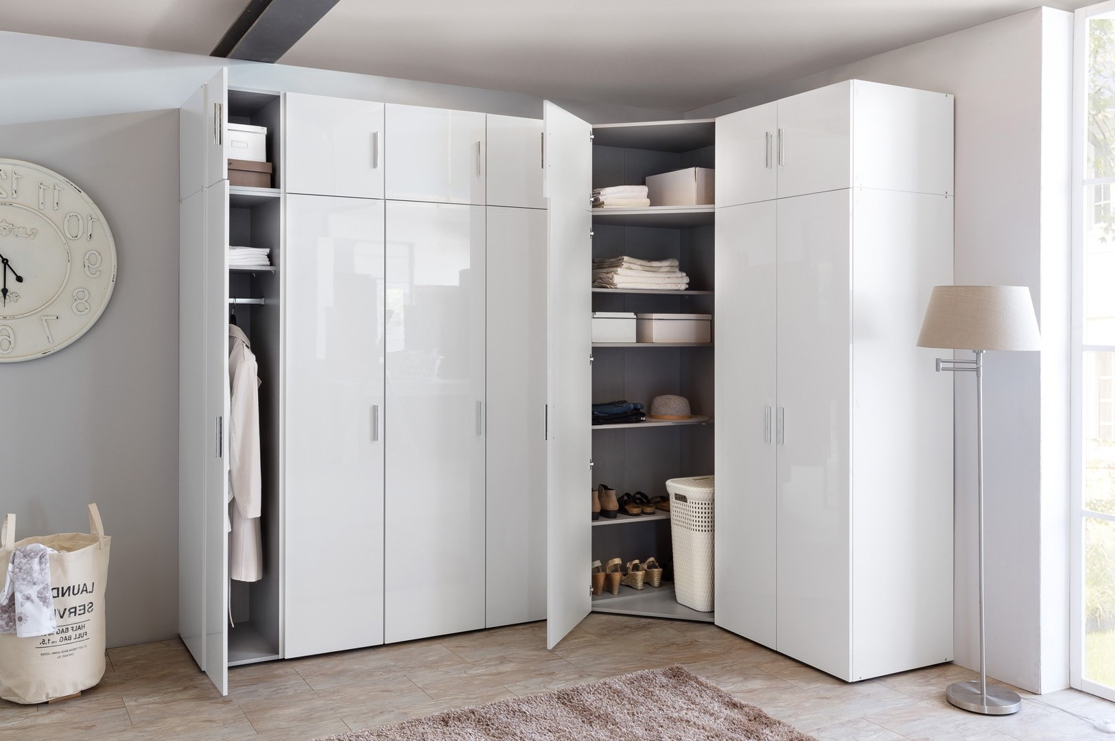 Armoire D Angle Chambre Bright Shadow Online