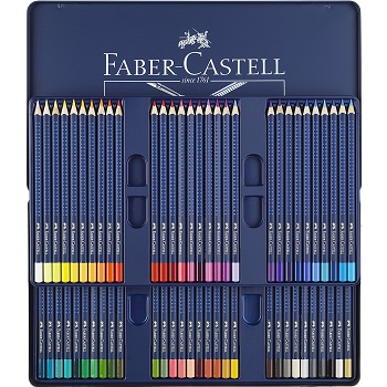 Faber Castell Art Grip Aquarelle Watercolor Pencils Review