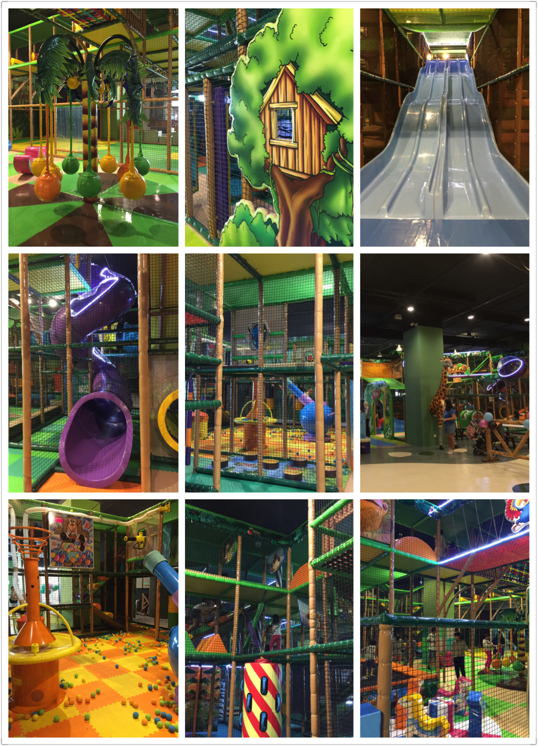 Jungle gym atria