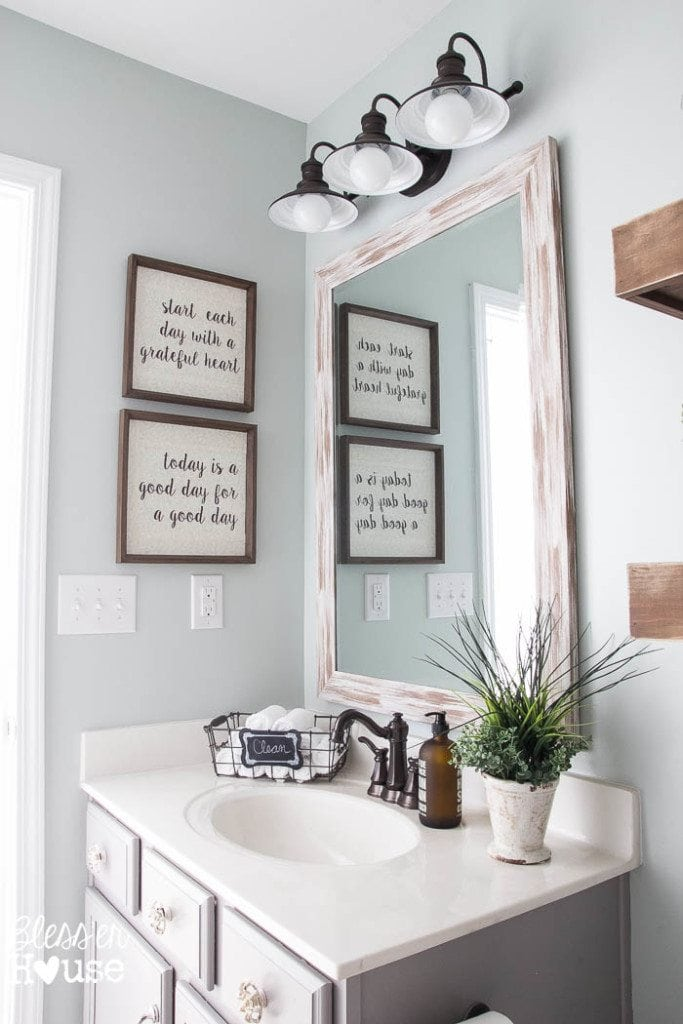 Farmhouse Bathroom Wall Paint Colors