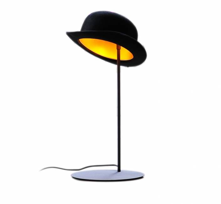 Jeeves bordlampe Sort/Guld