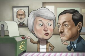 yellen-teaching-draghi-how-to-print-money-funny