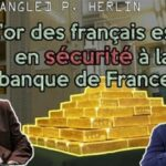 "Philippe Herlin: ""Mon interview sur la fin de la sanctuarisation de l'or de la Banque de France suite à son accord avec JP Morgan. Une affaire nationale négligée par les médias."""