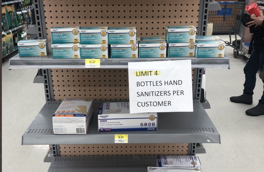 You May Have A Hard Time Finding Hand Sanitizer At Costco And