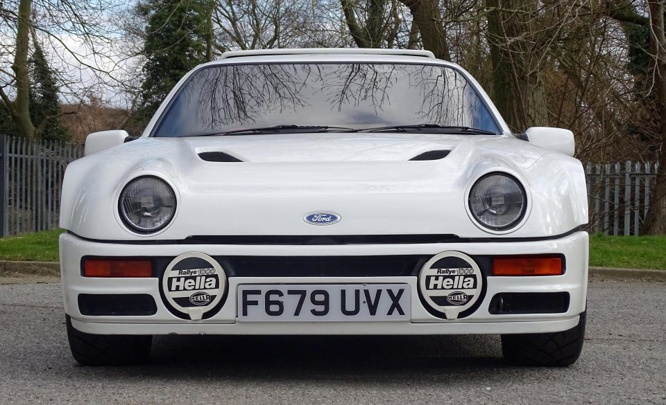 This 80's Rally Car is as Expensive as a new Bentley