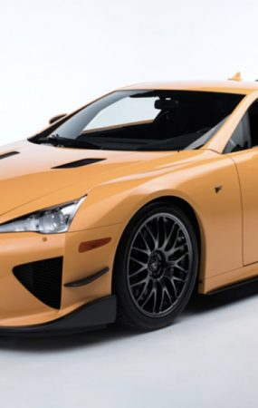 A Rare Lexus LFA Nurburgring Edition Goes to Auction
