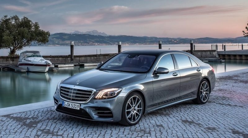 The Mercedes-Benz EQ S Electric Saloon Arriving in 2020